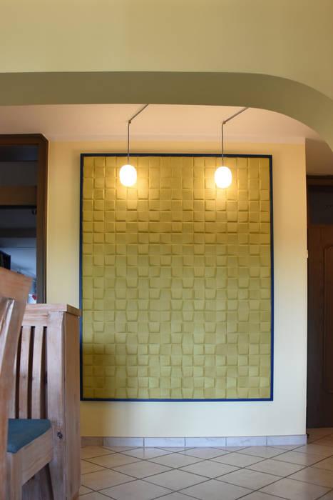 Schallabsorbierende Wanddekoration Esszimmer im Landhausstil von T-raumKONZEPT - Interior Design im Raum Nürnberg Landhaus