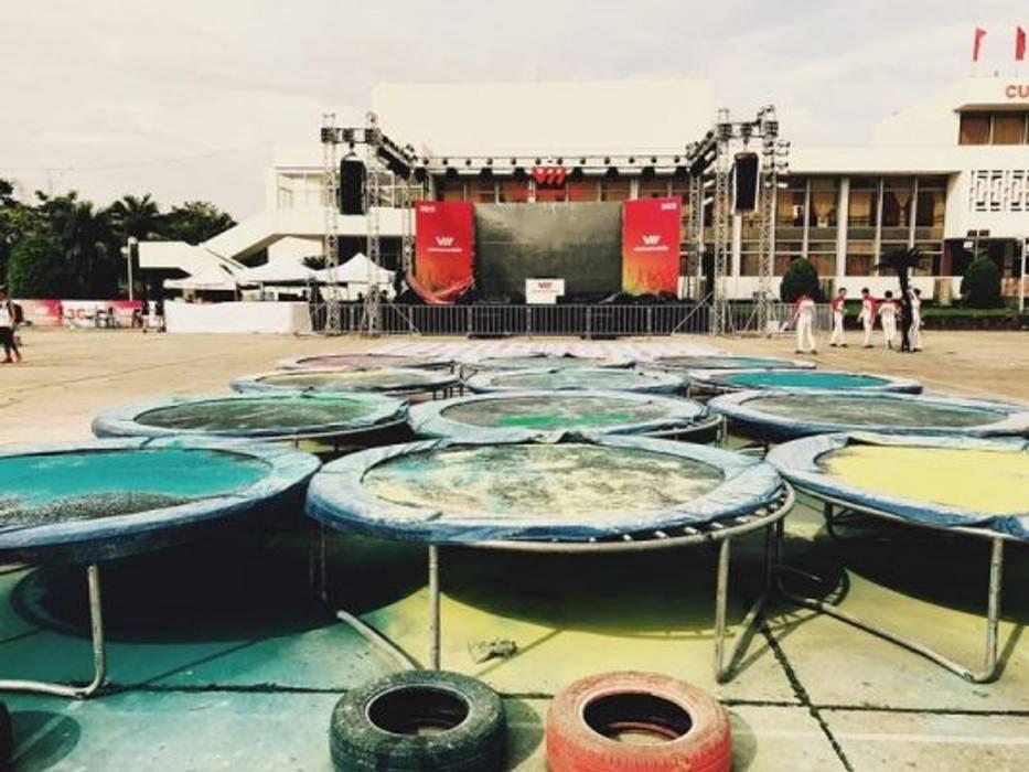 Locais de eventos asiáticos por Đồ Chơi Phú Long Asiático Metal