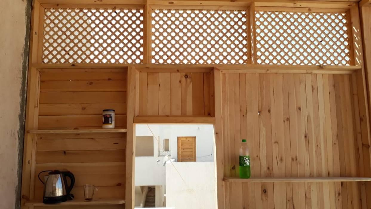 قرية ريماس الساحل الشمالى من lifestyle_interiordesign تبسيطي خشب Wood effect