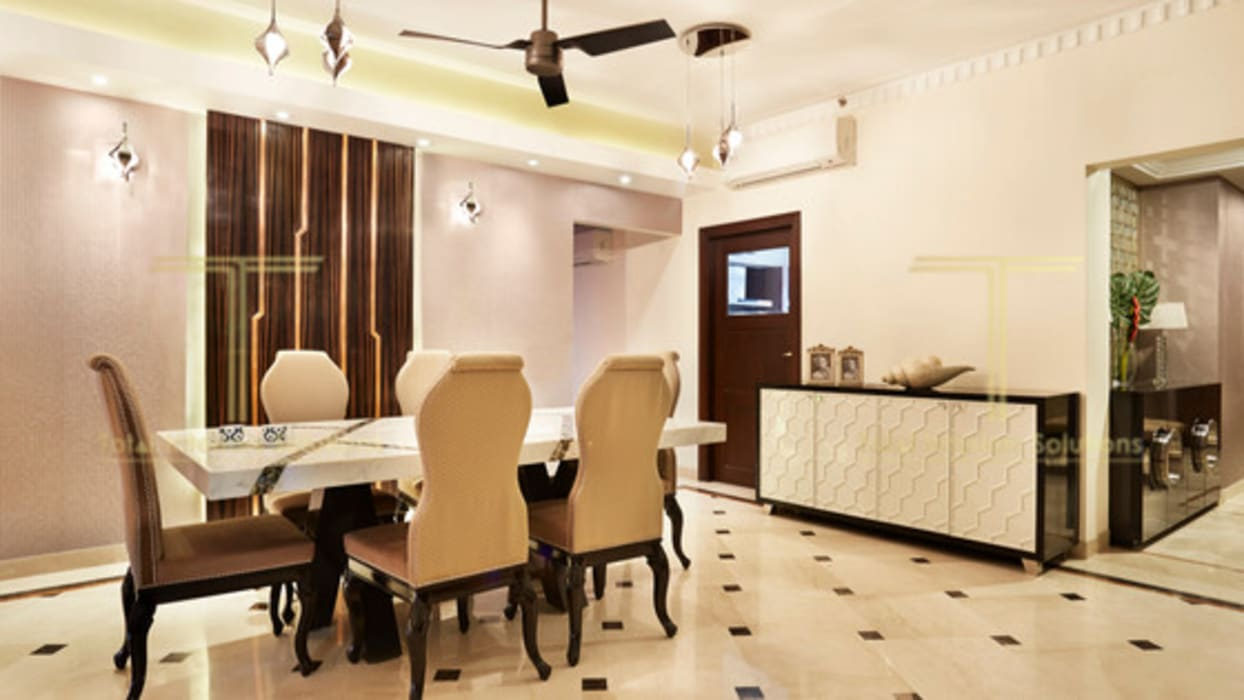 Dining Area Modern dining room by Total Interiors Solutions Pvt. ltd. Modern