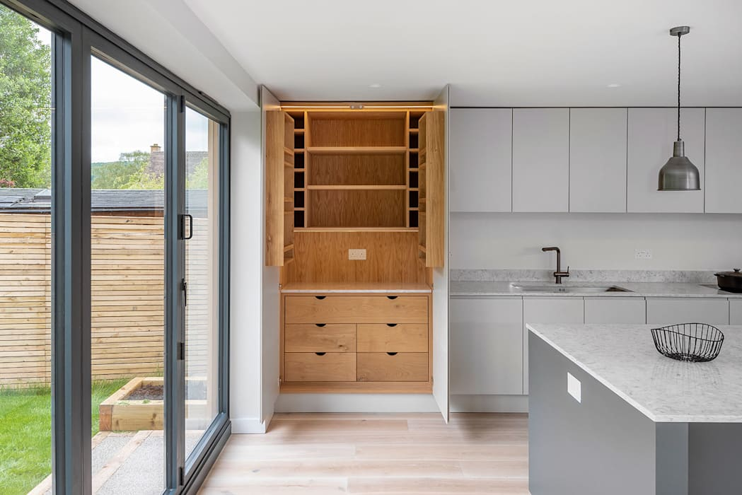 Barnfield Way, Bath par Chaunceys Timber Flooring Scandinave