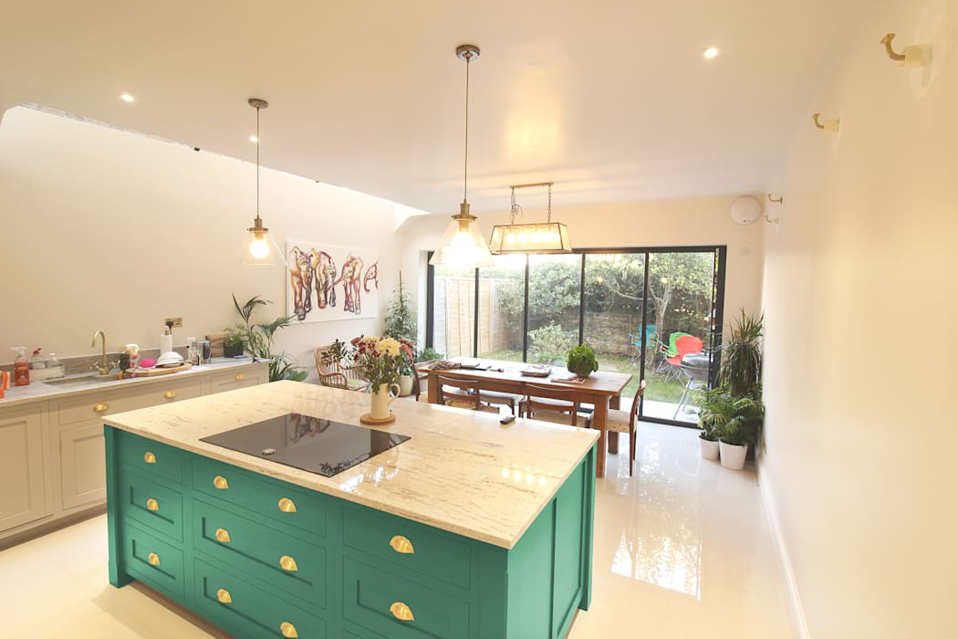 Canford Road, Clapham Common - SW11 Modern Kitchen by APT Renovation Ltd Modern