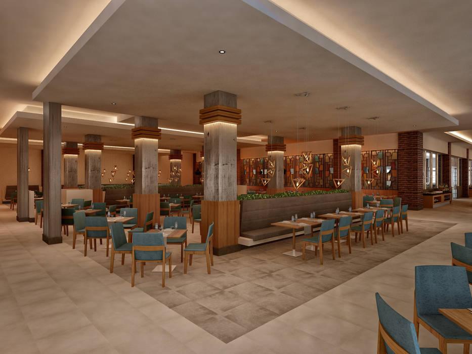 Restoran 3d Antalya Modern