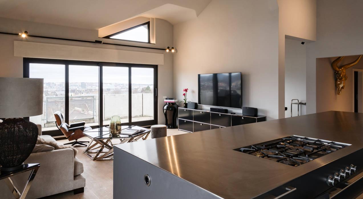 Penthouse D150 von JOSHUALUX INNENARCHITEKTUR Minimalistisch