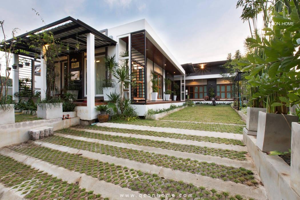 MODERN TROPICAL HOUSE โดย Q-Con Home ทรอปิคอล