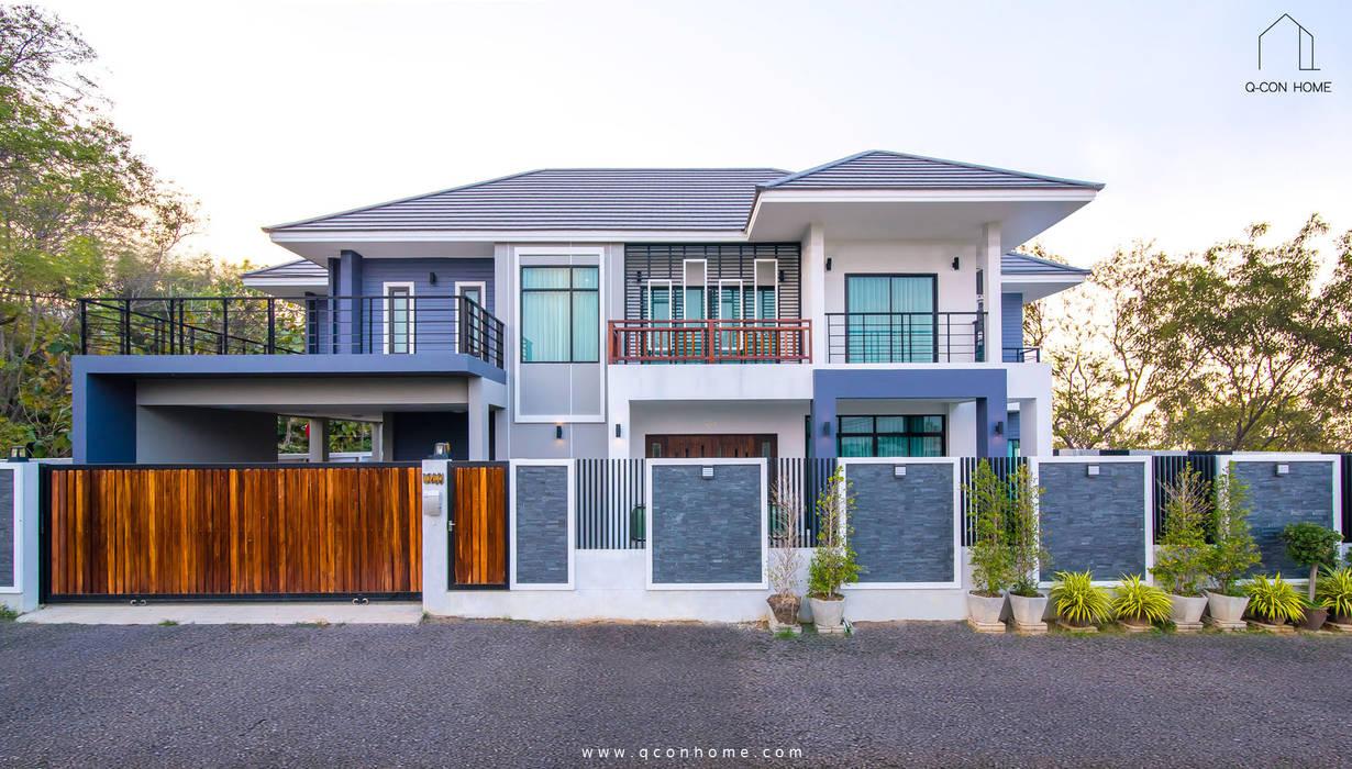 MODERN CONTEMPORARY HOUSE โดย Q-Con Home โมเดิร์น