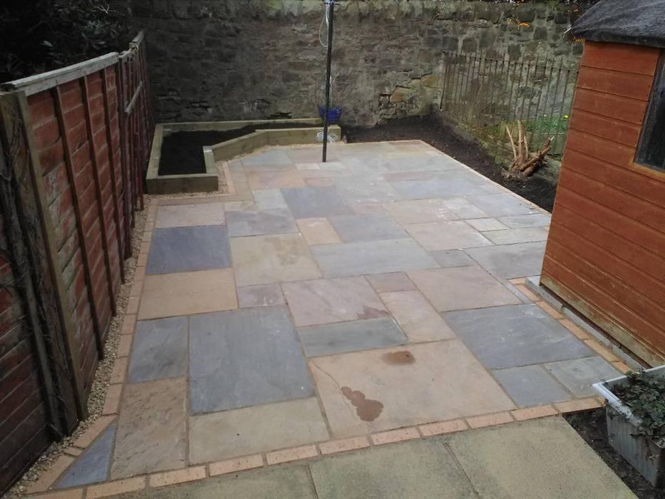 A garden design project in Edinburgh by Colinton Gardening Services - garden landscaping for Edinburgh Minimalist