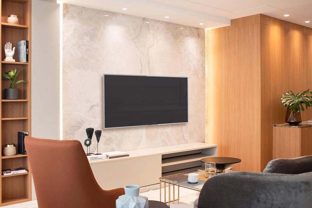 Living Salas de estar modernas por Plurale Arquitetura Moderno