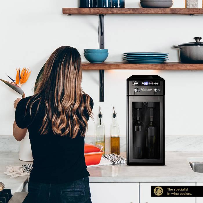 Ruang Penyimpanan Wine/Anggur Modern Oleh Datron   Cantinette vino Modern
