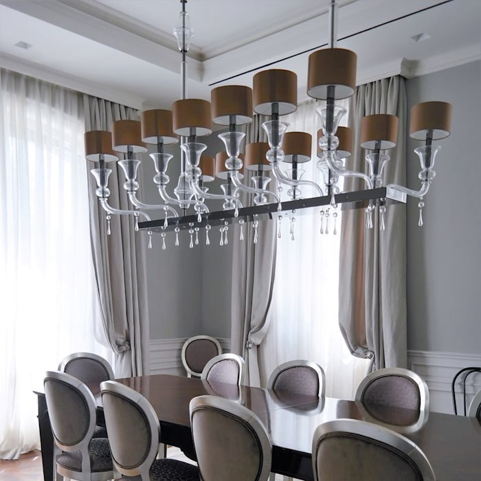 Luxurious Spaces with Multiforme Lighting Ruang Media Klasik Oleh MULTIFORME® lighting Klasik