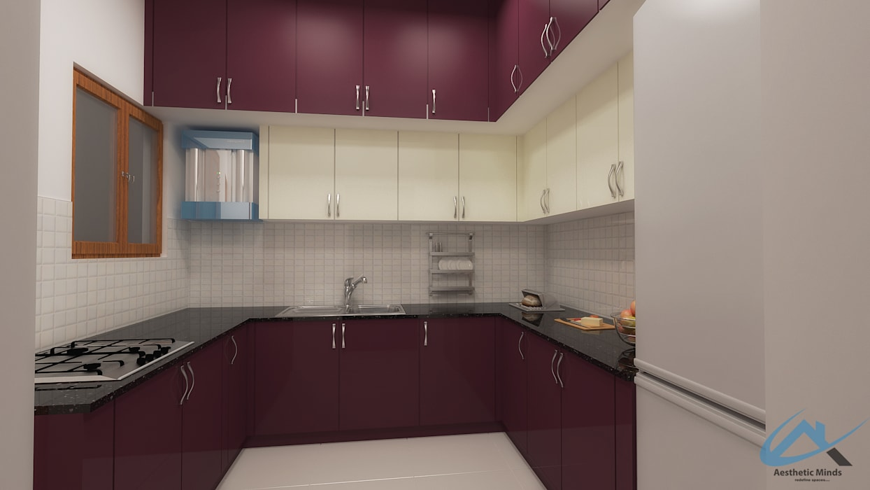 Kitchen by Aesthetic Minds Modern