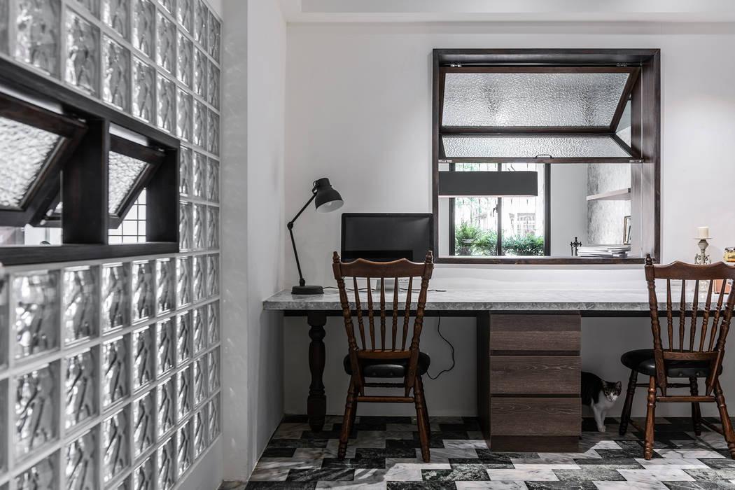 美味影像攝影棚 根據 漢玥室內設計 日式風、東方風 木頭 Wood effect