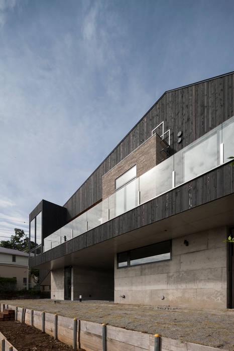 Hafye モダンデザインの テラス の キューボデザイン建築計画設計事務所 モダン