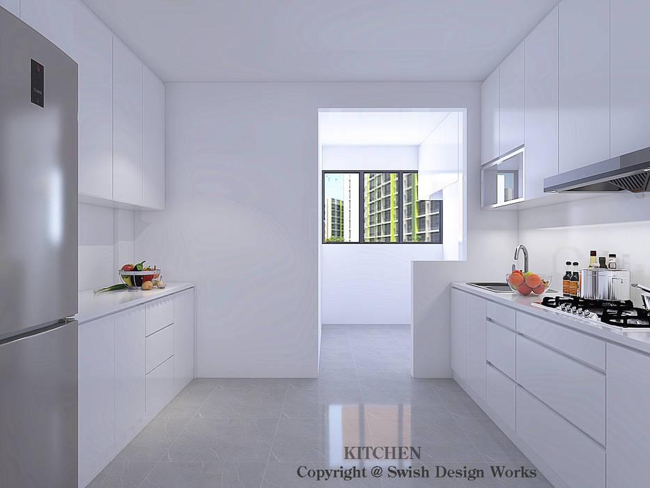 Kitchen by Swish Design Works Minimalist Plywood
