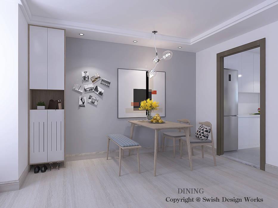 Comedores de estilo minimalista de Swish Design Works Minimalista Contrachapado
