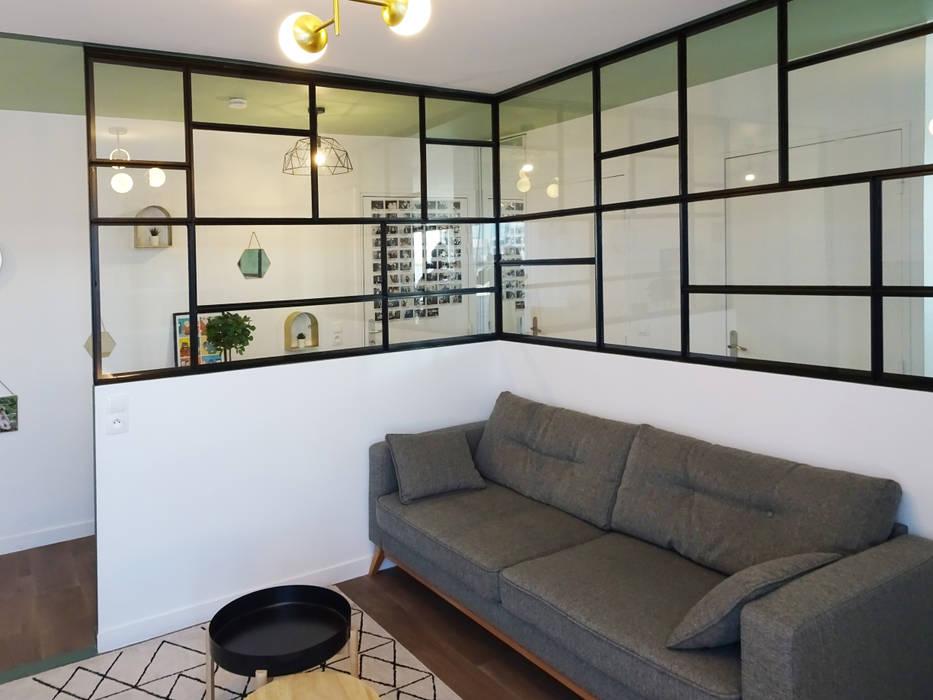 Salas modernas de Sandrine Carré Moderno