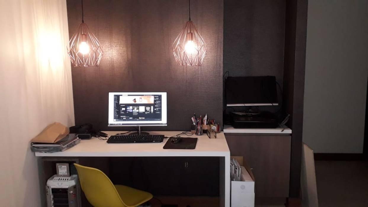 Sala de Estudio de Azohia Design - Diseño y Decoracion Maria Alejandra Bucher EIRL Moderno