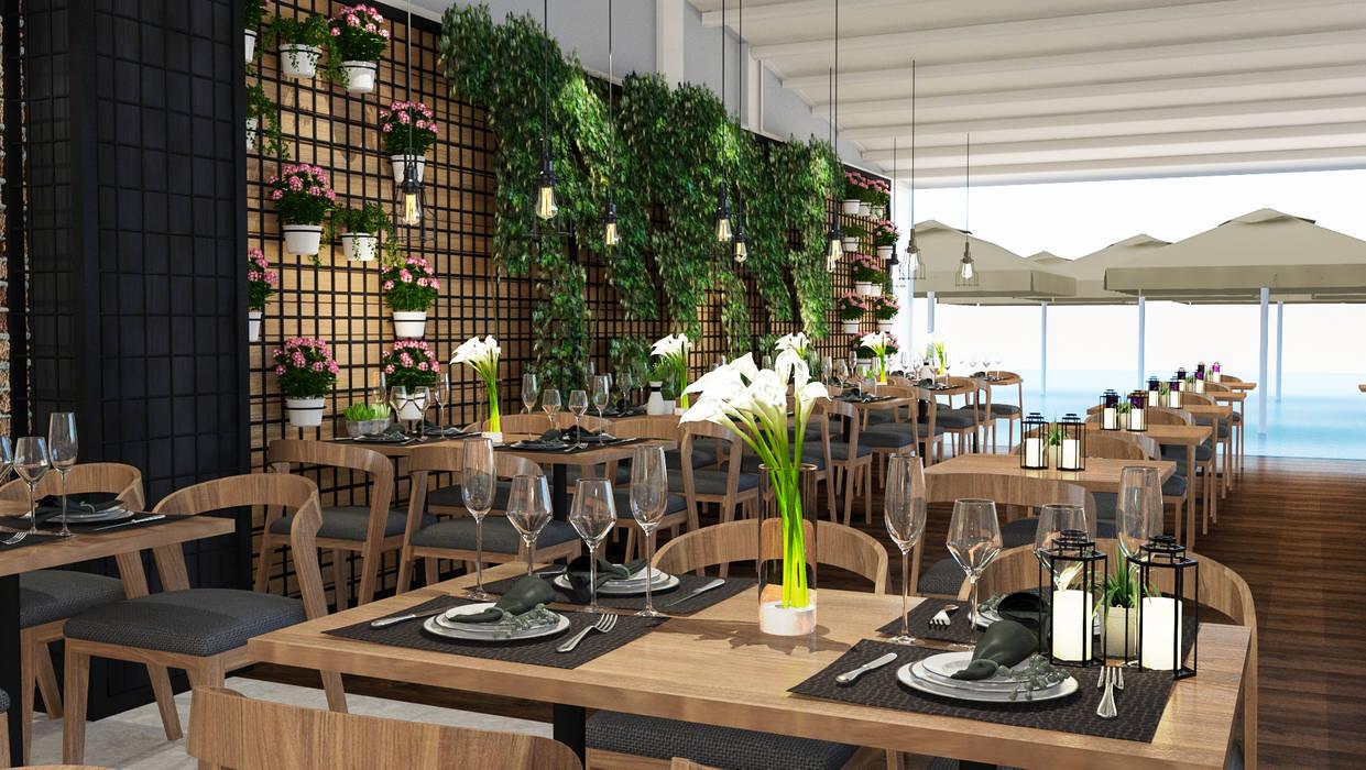 Modern dining room by ARTERA İÇ MİMARLIK VE MİMARLIK Modern