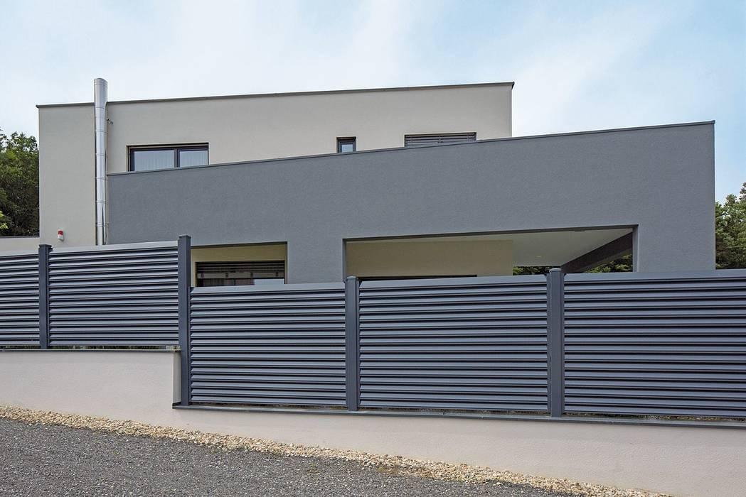 par Super-Zaun Moderne Aluminium/Zinc