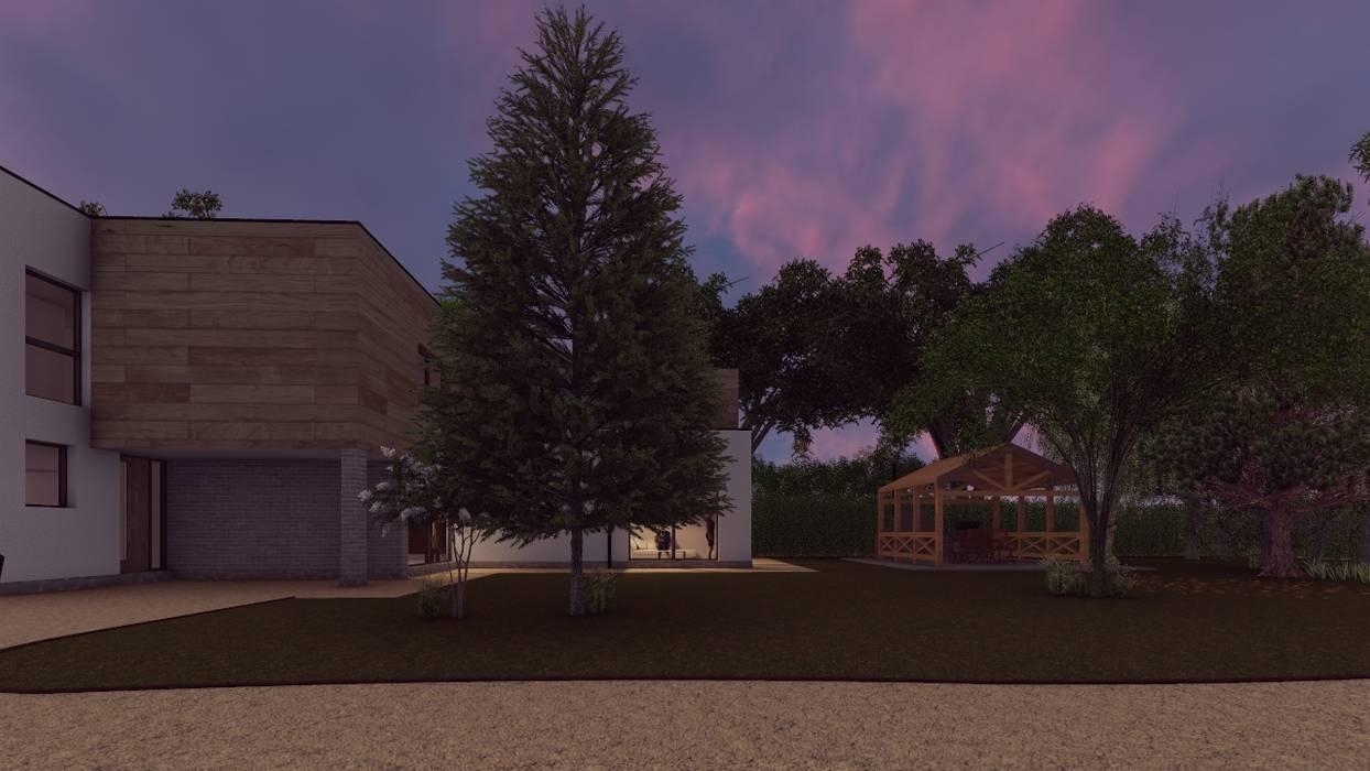 Lawn Area de Abodde Housing Moderno