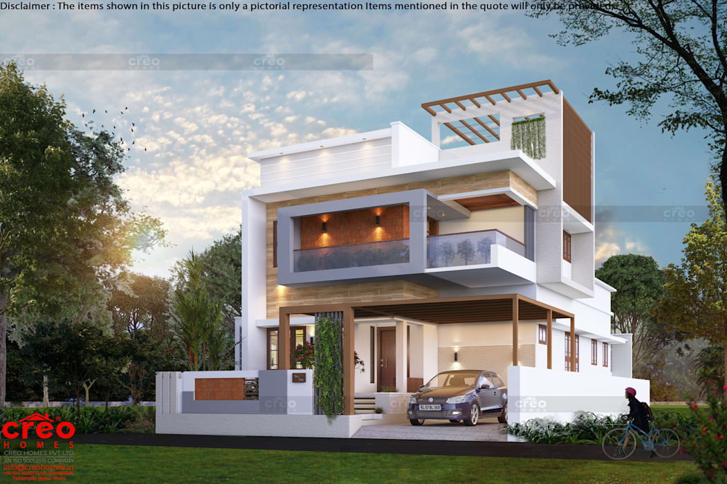 Best Architectural Firms in Cochin Asian style houses by Creo Homes Pvt Ltd Asian