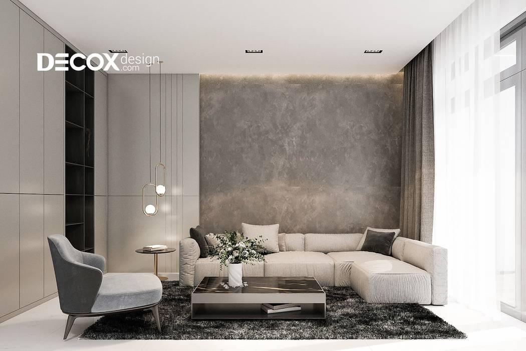 THIẾT KẾ NỘI THẤT NHÀ PHỐ 300M2 bởi Công ty cổ phần nội thất DECOX Hiện đại