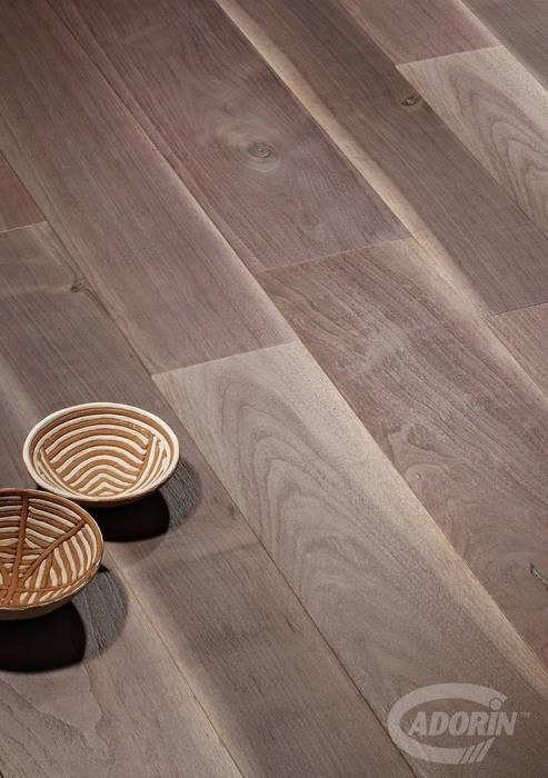 Old Noghera, Brushed, Bark varnished Oleh Cadorin Group Srl - Top Quality Wood Flooring Modern