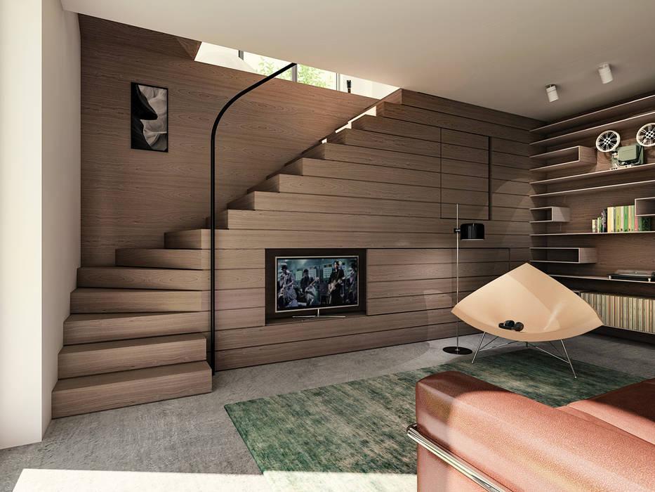 Woonruimte special #044 Industriële woonkamers van Bergblick interieurarchitectuur Industrieel
