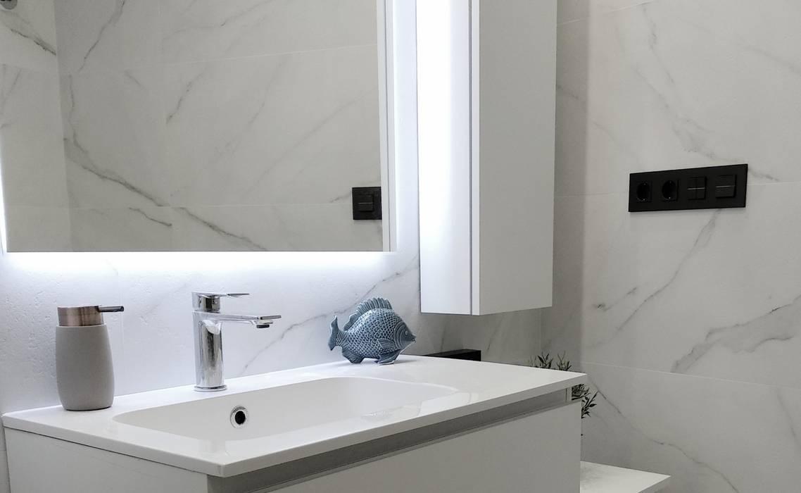 Moderne Badezimmer von ADMIRA Arquitectura+Diseño Modern Fliesen
