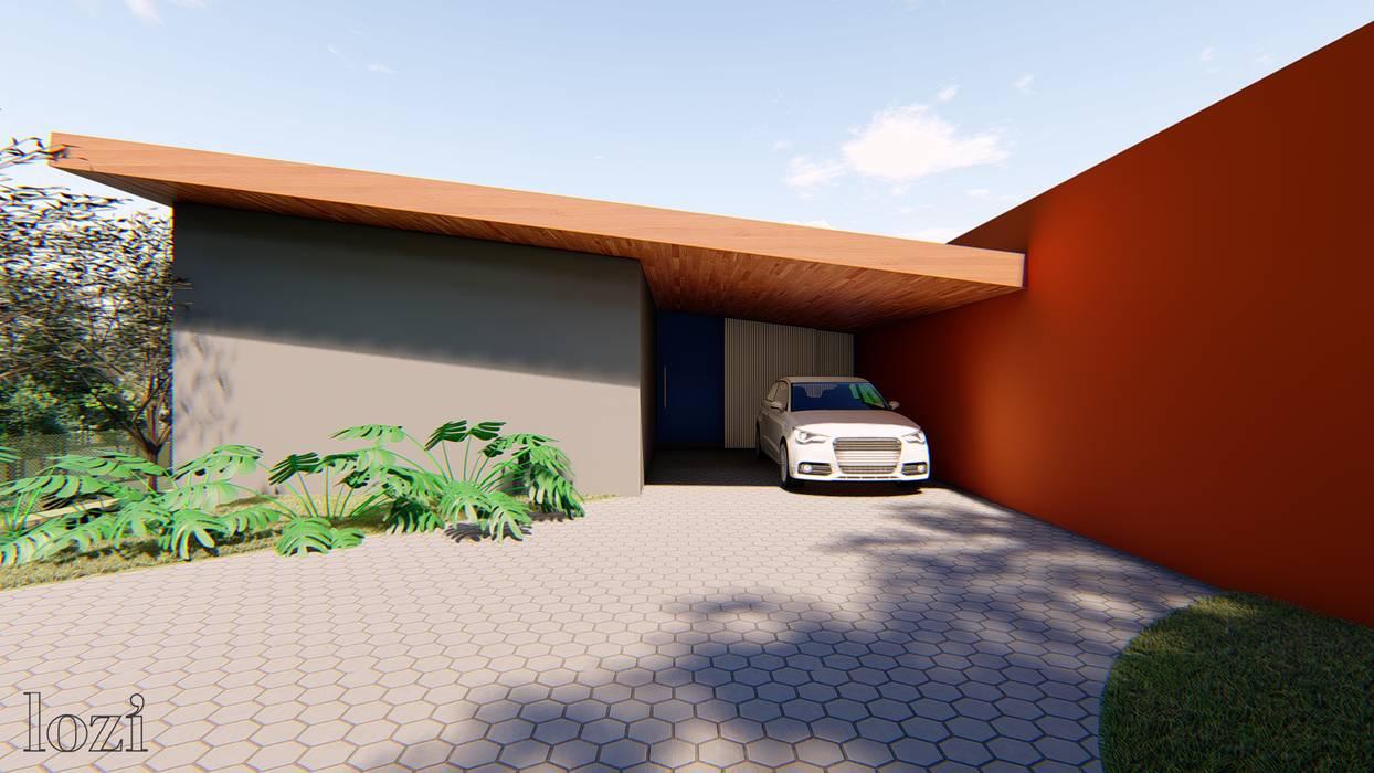 CASA DO LAGO Casas modernas por Lozí - Projeto e Obra Moderno