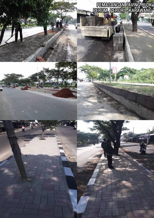 Pemasangan Paving Block Taman Tropis Oleh Reza Fauzi Tropis