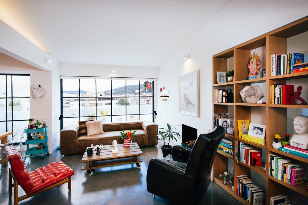 Sala Salas modernas de Modismo Moderno