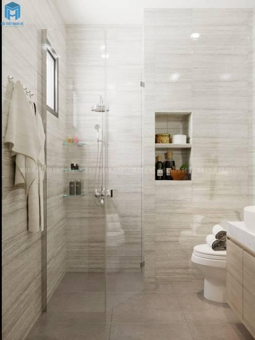 Nội thất nhà vệ sinh sang trọng Công ty TNHH Nội Thất Mạnh Hệ Phòng tắm phong cách hiện đại