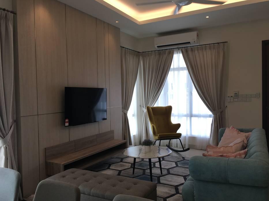 Private Residence @ Caspia M2 Rawang by Bien Interiors Sdn Bhd Modern