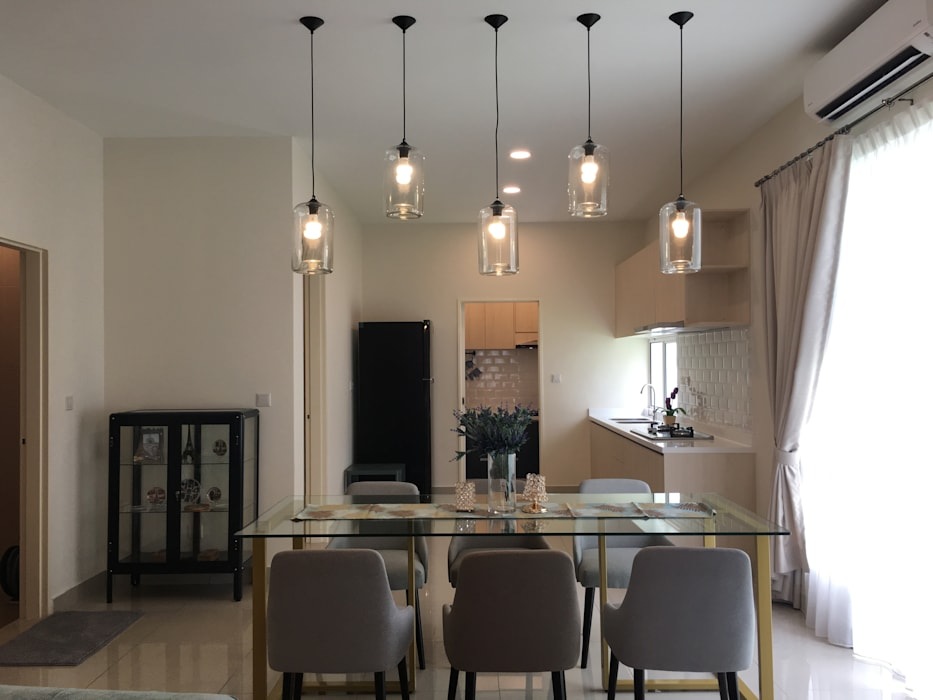 Modern dining room by Bien Interiors Sdn Bhd Modern