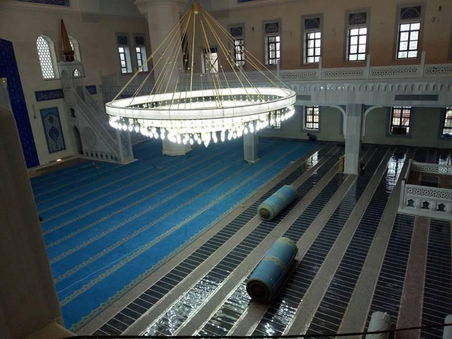 Cami ısıtma sistemi uygulaması - Nidapark İstanbul Şah Zemin & Isıtma Sistemleri Klasik