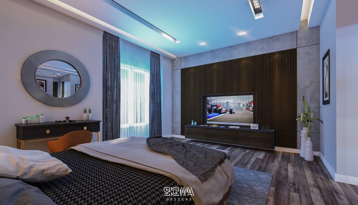 شقة سكنية خاصة - القاهرة الجديدة من SIGMA Designs حداثي