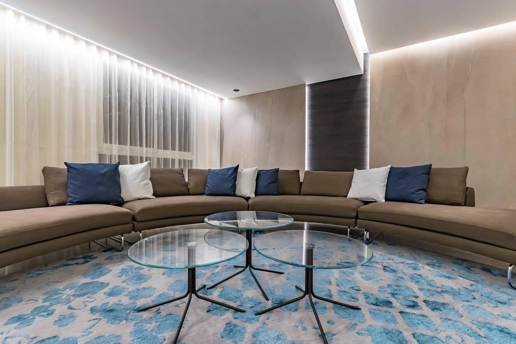 APTO CDP A21 Salas de estilo moderno de Design Group Latinamerica Moderno