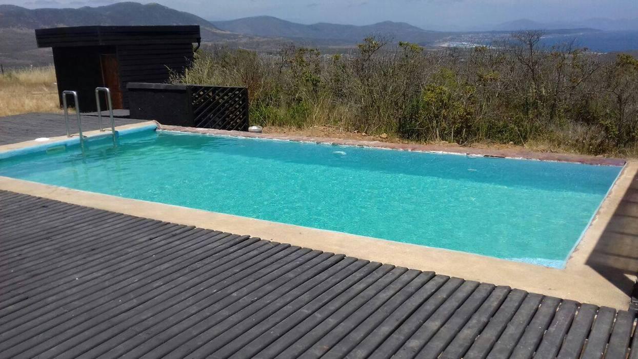 piscina vista infinita de Constructora Femak Clásico