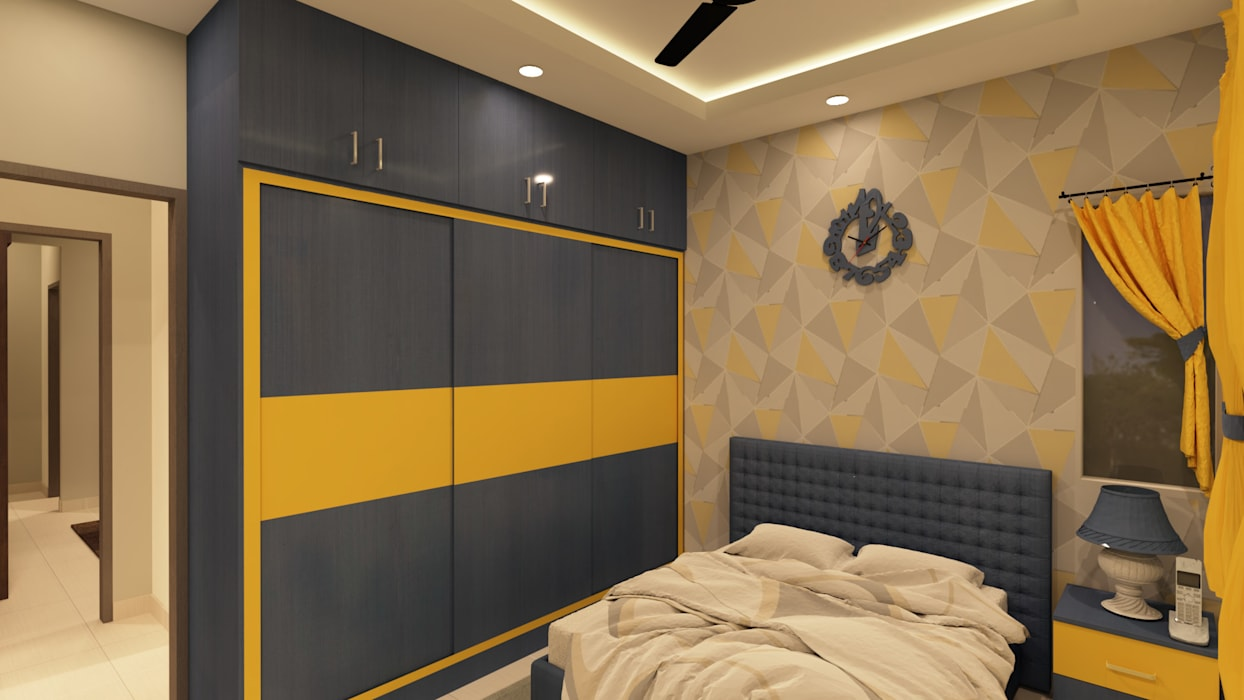 Kids Bedroom Asian style bedroom by SD Interiors & Modulars Asian