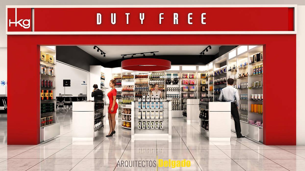 Aeroportos minimalistas por Arquitectos Delgado Minimalista