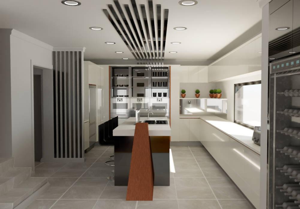 Kitchen by Designs by Meraki Modern MDF