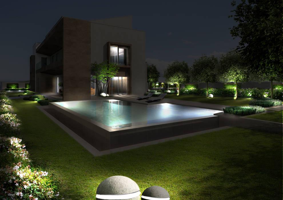by Verde Progetto - Adriana Pedrotti Garden Designer Modern