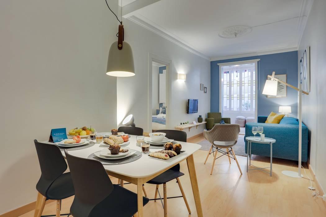 CREAPROJECTS. Comedor de estilo escandinavo. Comedores de estilo escandinavo de CREAPROJECTS. Interior design. Escandinavo