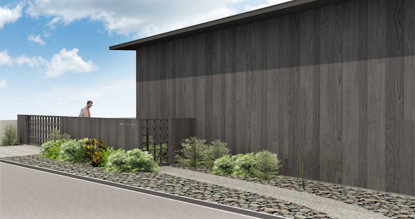 Maisons modernes par NOMA/桑原淳司建築設計事務所 Moderne