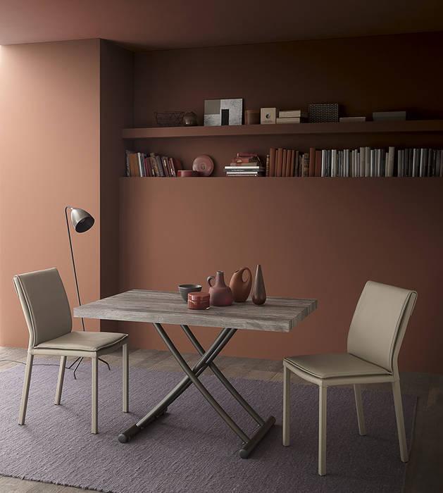 Poche mosse per un tavolo per 4 persone soggiorno moderno di ...