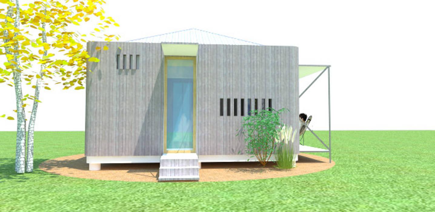 Casa Módulo con Feng Shui Casas de estilo minimalista de ARQUITECTURA FENG SHUI Minimalista