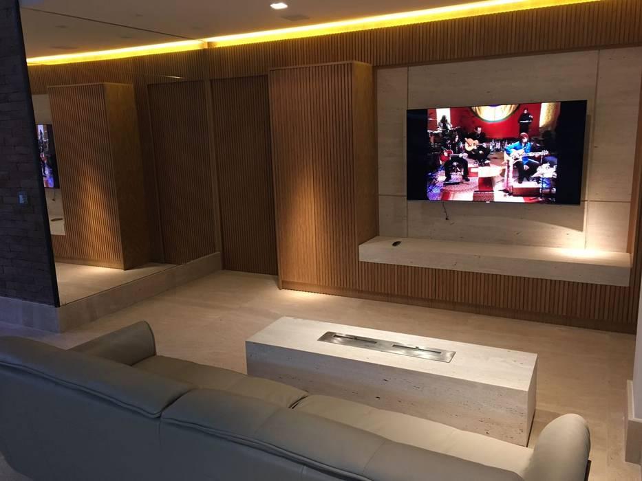 Living Elaine Hormann Architecture Living roomLighting Glass Amber/Gold