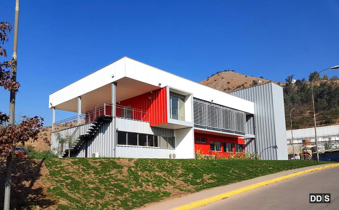 DDIS Arquitectos Modern offices & stores Aluminium/Zinc