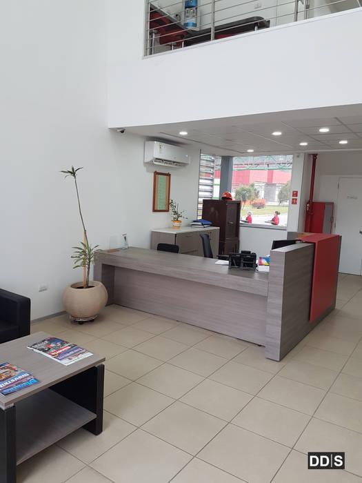 Oficinas corporativas Quimica Harting DDIS Arquitectos Oficinas y Tiendas Aluminio/Cinc